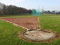 Shot putt circle at Tweedbank Sports Complex - geograph.org.uk - 695443.jpg