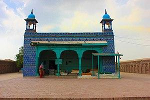 Bibi Pak Daman -  Shrine of Bibi Pak Daman, front view