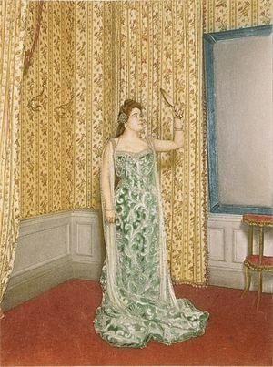 English: Sibyl Sanderson, American opera sopra...