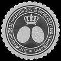 Siegelmarke Der Geheime Kabinetsrath I.K.H. der Grossherzogin von Baden W0350225.jpg