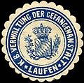 Siegelmarke Königlich Bayerische Verwaltung der Gefangenanstalt Laufen W0211898.jpg
