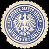 Siegelmarke Königliche Eisenbahn Directon Berlin - Betriebs - Amt Görlitz W0215658.jpg