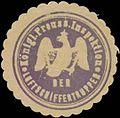 Siegelmarke K.Pr. Inspektion der Luftschiffertruppen W0370622.jpg