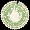 Siegelmarke K. Katholische Bezirks-Schulinspektion - Stuttgart W0296816.jpg