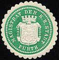 Siegelmarke Magistrat der Königlich Bayerischen Stadt Fürth W0226838.jpg