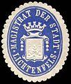 Siegelmarke Magistrat der Stadt - Lichtenfels W0235308.jpg