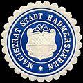 Siegelmarke Magistrat der Stadt Hadmersleben W0239541.jpg