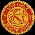 Siegelmarke Städtisches Grundbuchamt Stadt Baden-Baden W0317320.jpg
