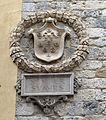 Siena, palazzo bargagli-piccolomini, stemma bargagli.JPG
