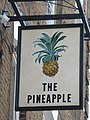 Sign for The Pineapple, Leverton Street, NW5 - geograph.org.uk - 1417718.jpg
