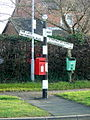 Signpost at Normanton - geograph.org.uk - 687719.jpg