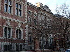 Cope and Stewardson - University of Pennsylvania Law School (now Silverman Hall), Philadelphia (1898–1901).