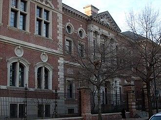 Cope and Stewardson - University of Pennsylvania Law School (now Silverman Hall), Philadelphia (1898–1901).