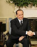 Il capo dell'opposizione, Silvio Berlusconi