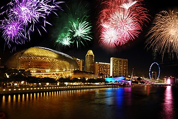 Singapore's National Day 2009 Fireworks preview.jpg