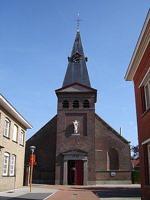 Beernem - Image: Sint Joris (Beernem) Sint Joriskerk 1
