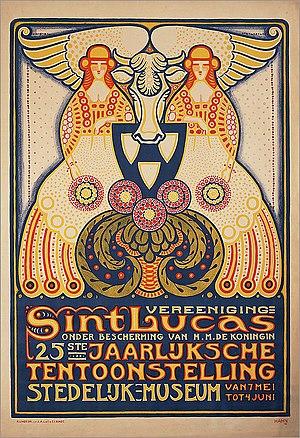 Albert Hahn - Image: Sint Lucas 25ste Jaarlijksche Tentoonstelling
