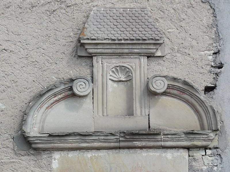 Sionviller (M-et-M) dessus de porte maison