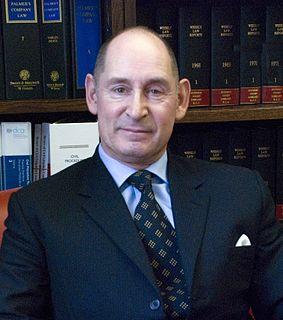 Terence Etherton, Baron Etherton British former judge