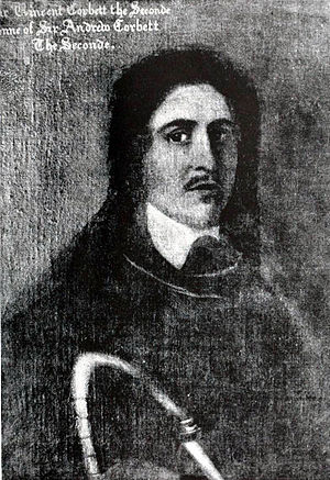 Francis Ottley - Sir Vincent Corbet, Ottley's principal Royalist collaborator in Shropshire during the early days of the Civil War and later a cavalry commander.