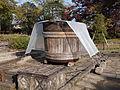 Six-feet bucket in the Ikeda-shi Garden.jpg