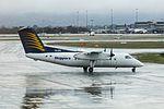 Skippers Aviation (VH-XFQ) De Havilland Canada DHC-8-106 Dash 8 taxiing at Perth Airport.jpg