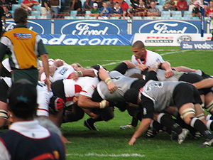 Super Rugby - The Cats (now the Lions) playing the Sharks.