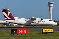 Skytrans Dash 8 at Brisbane Airport.jpg