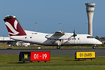 Skytrans Dash 8 at Brisbane Airport.jpg