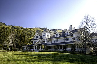 Maniac Mansion - Image: Skywalker Ranch Main House