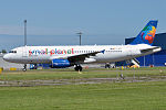 Small Planet Airlines, LY-SPB, Airbus A320-232 (18616765761).jpg