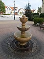 Small fountain at the Town Hall, 2016 Dunakeszi.jpg
