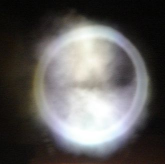 Smoke ring - Smoke ring from a smoke chamber