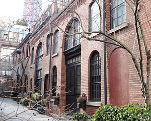 Murray Hill, Manhattan - Sniffen Court, built as stables in the 1860s