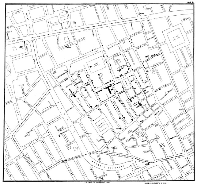 643px Snow cholera map 1 5 of the Best Urban Infographics