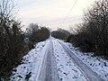 Snow on the Tullynamullan Road - geograph.org.uk - 1636880.jpg