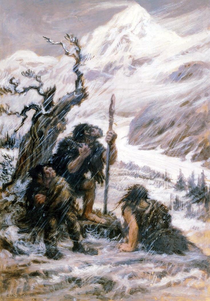 Snowbound Neanderthals