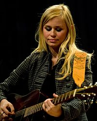 Sofia Talvik performs on March 6, 2010 at the Nordic Heritage Museum in Seattle, Washington.jpg