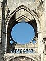 Soissons (02), abbaye Saint-Jean-des-Vignes, abbatiale, nef, tribune occidentale, vue depuis l'est 2.jpg