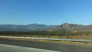 Soledad Canyon - View from CA 14 of Soledad Canyon near Acton.