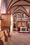 Solms - Kloster Altenberg - ev Kirche - Orgel - Spieltisch 6.JPG
