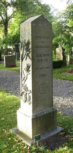 Hjalmar Stolpe - Image: Solna, Hjalmar Stolpe