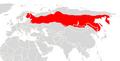 Sorex isodon range map.png
