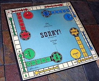 Sorry! (game) - Image: Sorry diamond edit