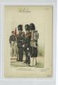 Sous-Officier, Clairon et Soldats. (Tenue de caserne, grande tenue, tenue de route.) 1883 (NYPL b14896507-88540).tiff