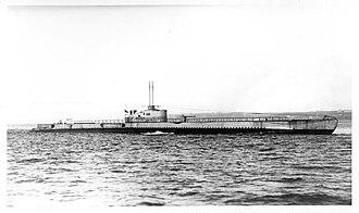 Redoutable-class submarine (1928) - Image: Sous marin Ajax