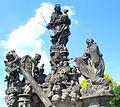 Sousoší Madony a Sv. Bernarda na Karlově mostě(Aw58).JPG