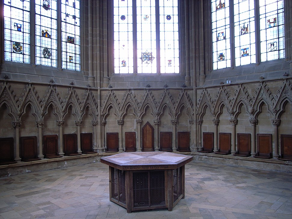 Southwell Chapter House2