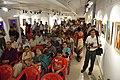 Spectators - Biswatosh Sengupta Solo Exhibition Inauguration - Kolkata 2015-07-28 3156.JPG