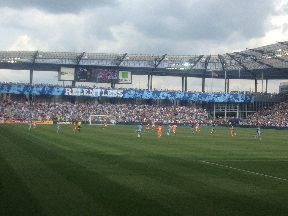 Sporting KC vs Houston Dynamo - 26 May 2013